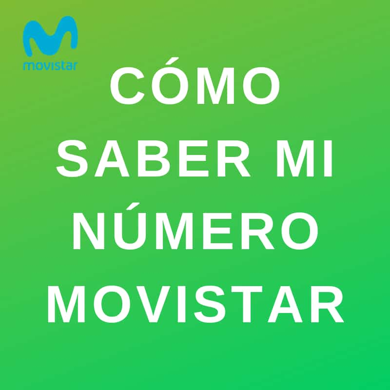 averiguar mi número movistar