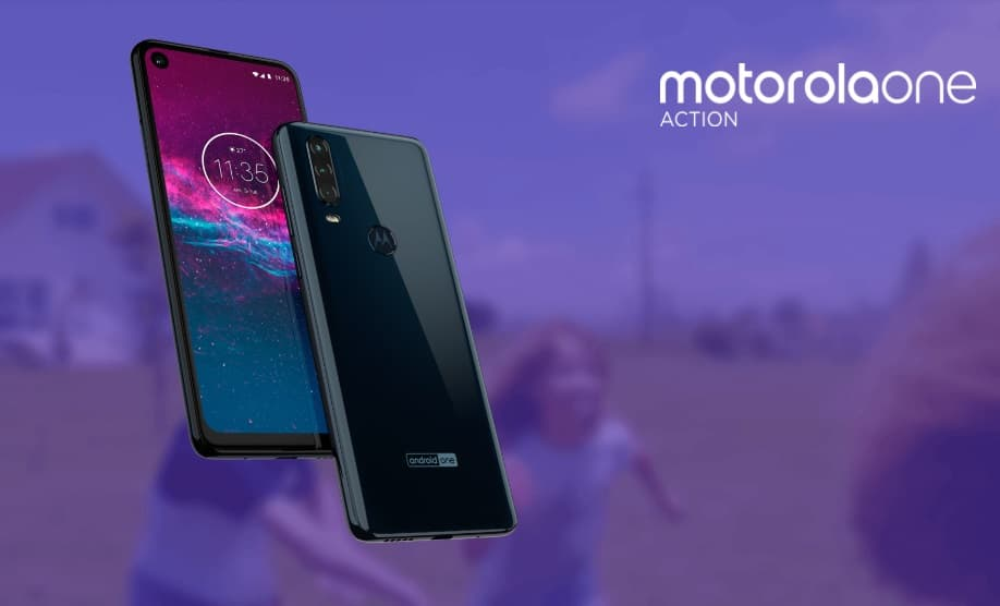 Motorola one action Colombia